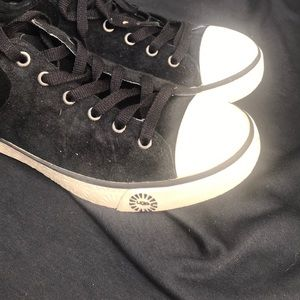 UGG Shoes - Women's UGG EVERA BLACK LACE UP SNEAKERS #6